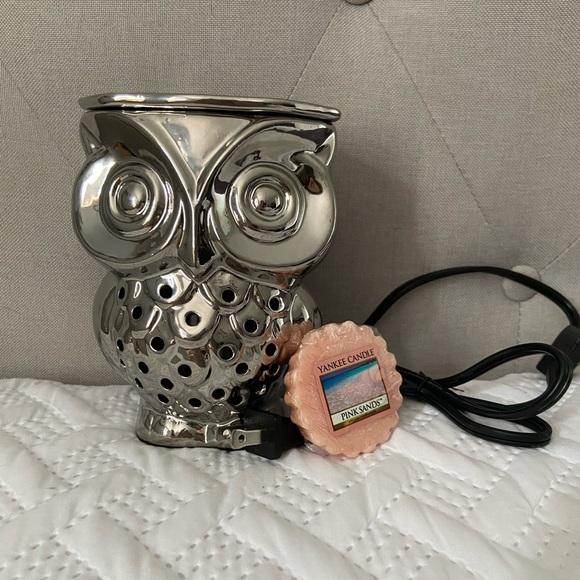 Beautiful Owl Wax Warmer Melter Electric